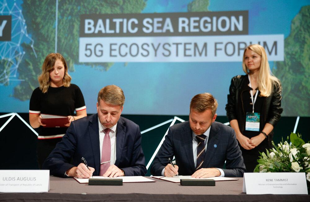 Balti riikide esindajate koostöölepe muudab Eesti ühe põhimaantee 5G masinate testteeks
