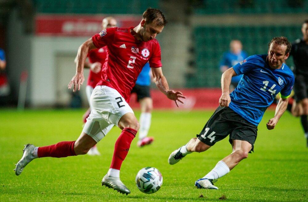 Eesti vs Gruusia - jalgpall