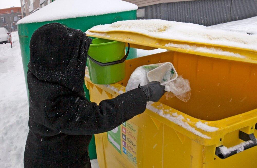 Mis paneb teid olmejäätmeid ja pakendeid sorteerima?