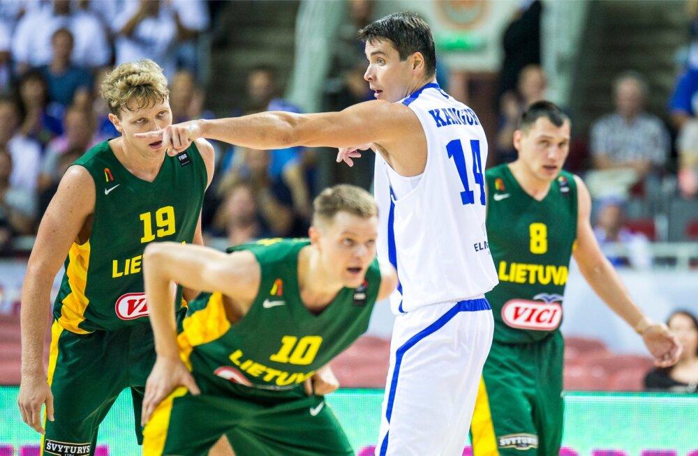 Eesti vs Leedu korvpall