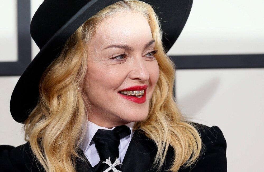 Madonna Grammy'de jagamisel