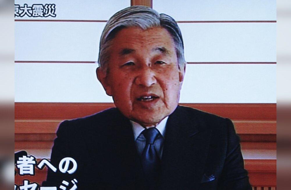 Jaapani keiser kutsus rahvast üles mitte alla andma