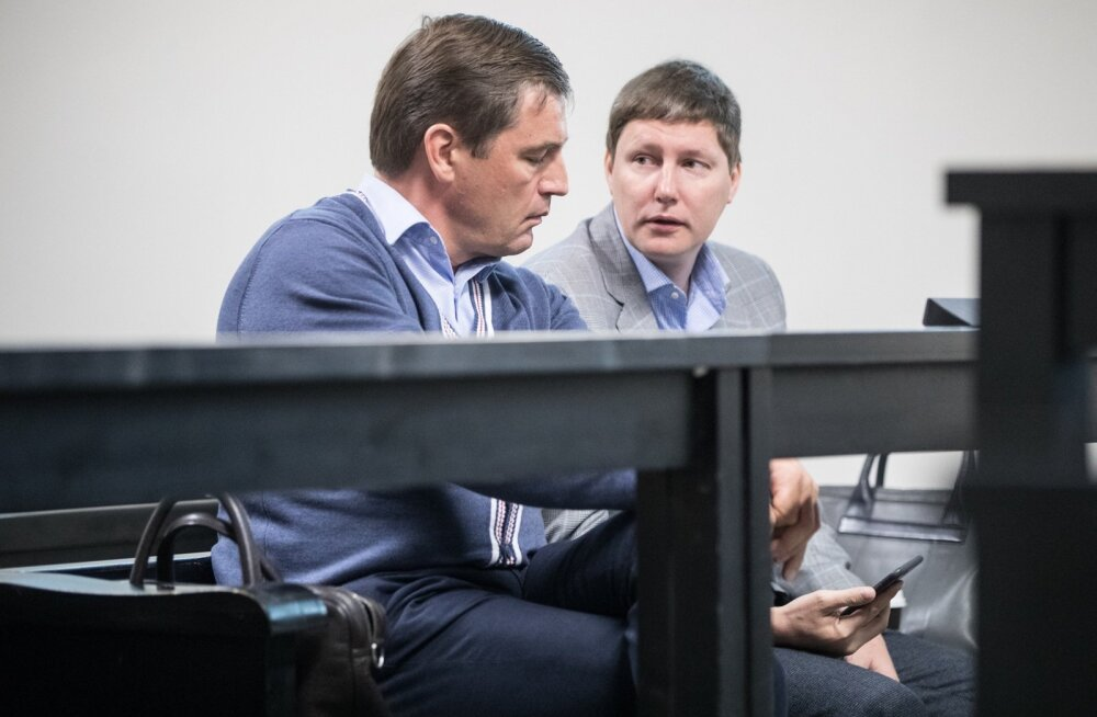 PERH-i endise juhi Tõnis Alliku ja haigla IT-juhi Marko Kilgi istung Harju maakohtus.