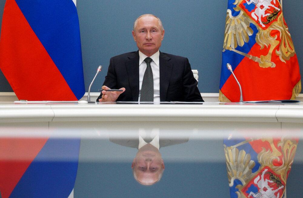 Putin: kümnetel riikidel üle maailma on suur huvi meie koroonaviiruse vaktsiini vastu