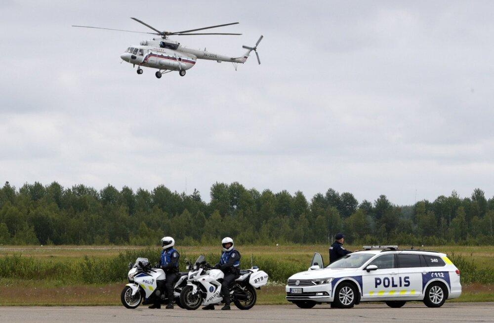Soome politsei Putini visiidiga seotud sõnumid sattusid suvalise inimese e-posti