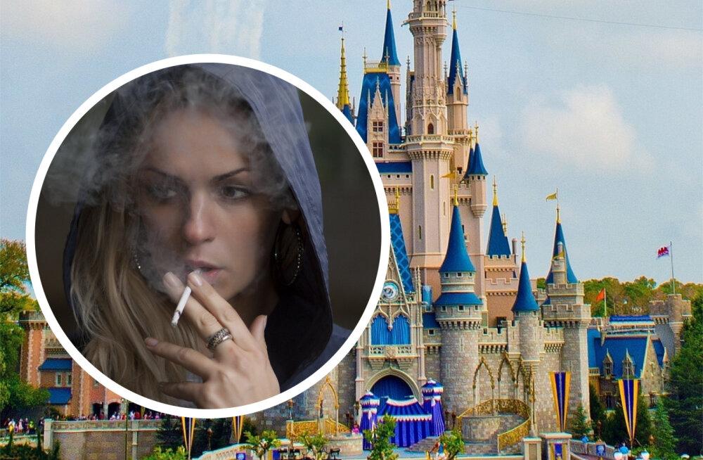 KURIOOSUM | Mille kõigeni üks suits viia võib: naisel keelati terveks eluks Walt Disney lõbustusparki sisenemine