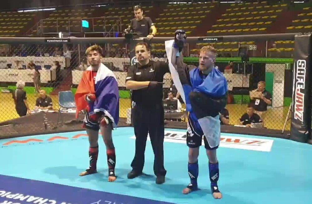 Kokamägi ja Meier võitlesid end MMA Euroopa meistrivõistlustel veerandfinaali
