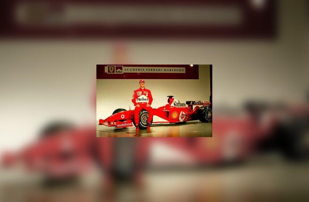 Michael Schumacher ja Ferrari F2004