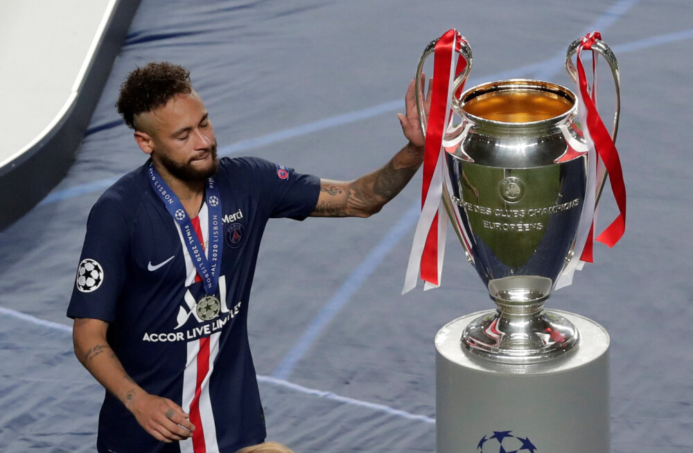 Neymar pärast Meistrite liiga finaali: kaotamine on osa jalgpallist