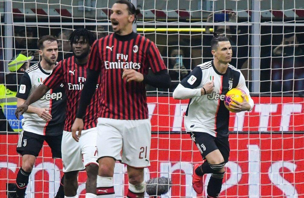 Ibrahimovic ja Ronaldo olid üle aastate taas vastamisi, avavaatus jäi viiki