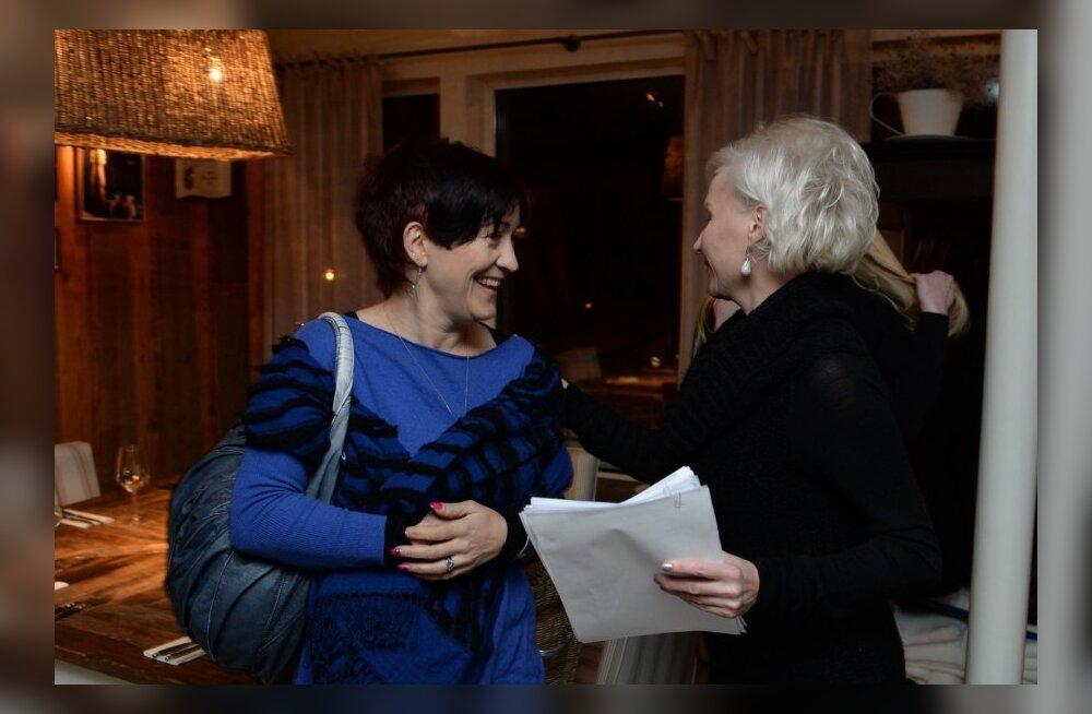 Jane Snaith ja Kristiina Ojuland eilsel avakoosolekul