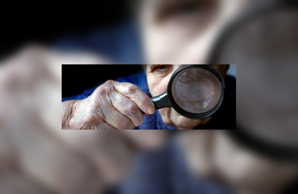 Riskirühm: üksi või kahekesi elavad pensionärid