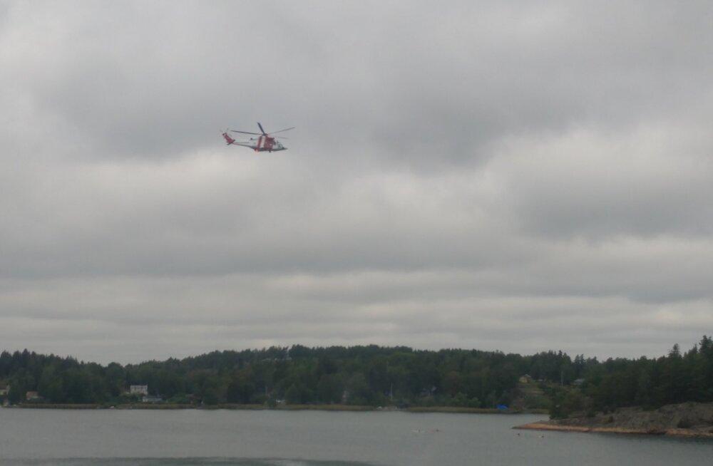 Rootsis kukkus inimene Tallinki laevalt merre ja jäi kadunuks