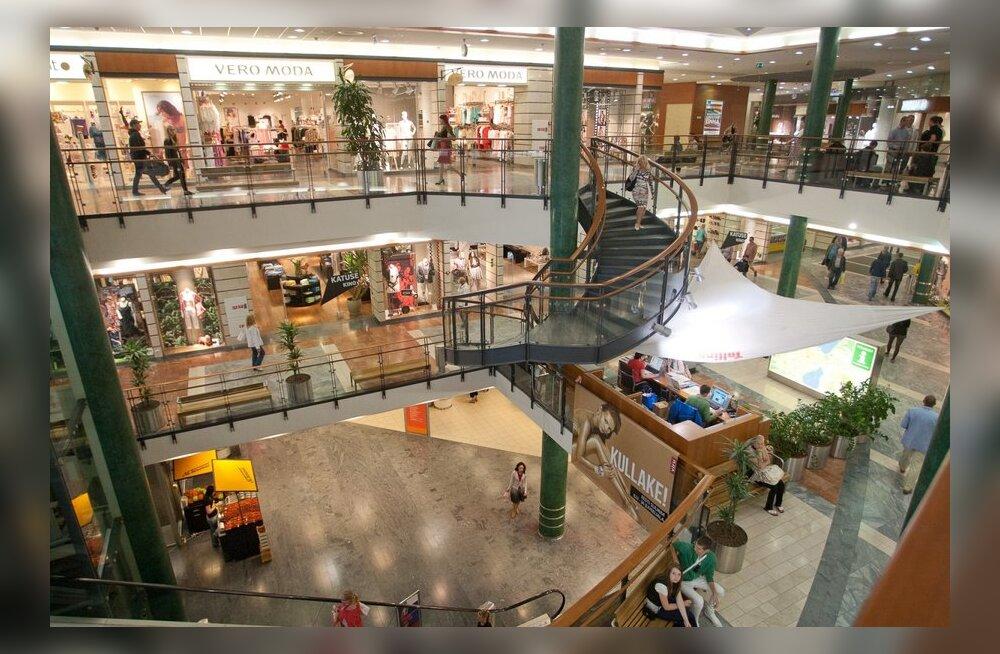 Шесть мест обслуживания в центре Viru удостоились похвал клиентов