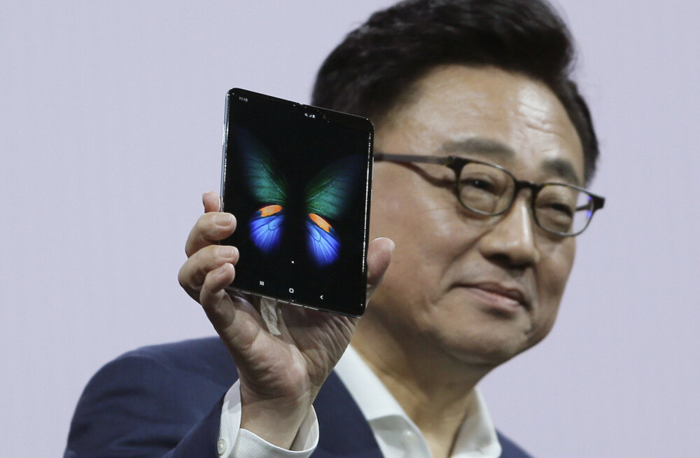 Samsungi juht: kiirustasime voldiktelefoni turule toomisega