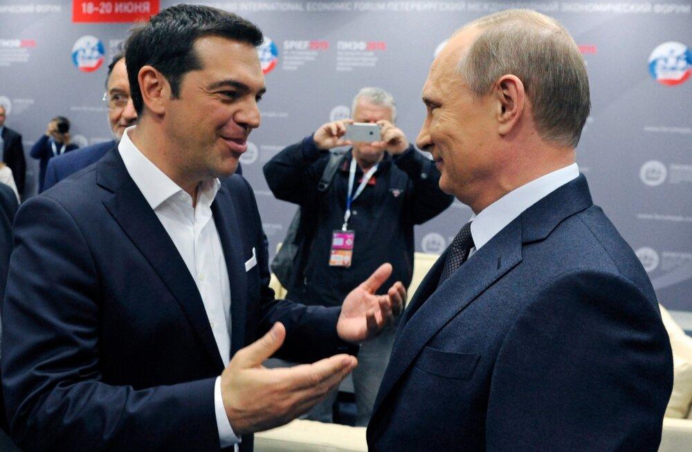 FT: Washington kardab Kreeka kaotamist Moskvale