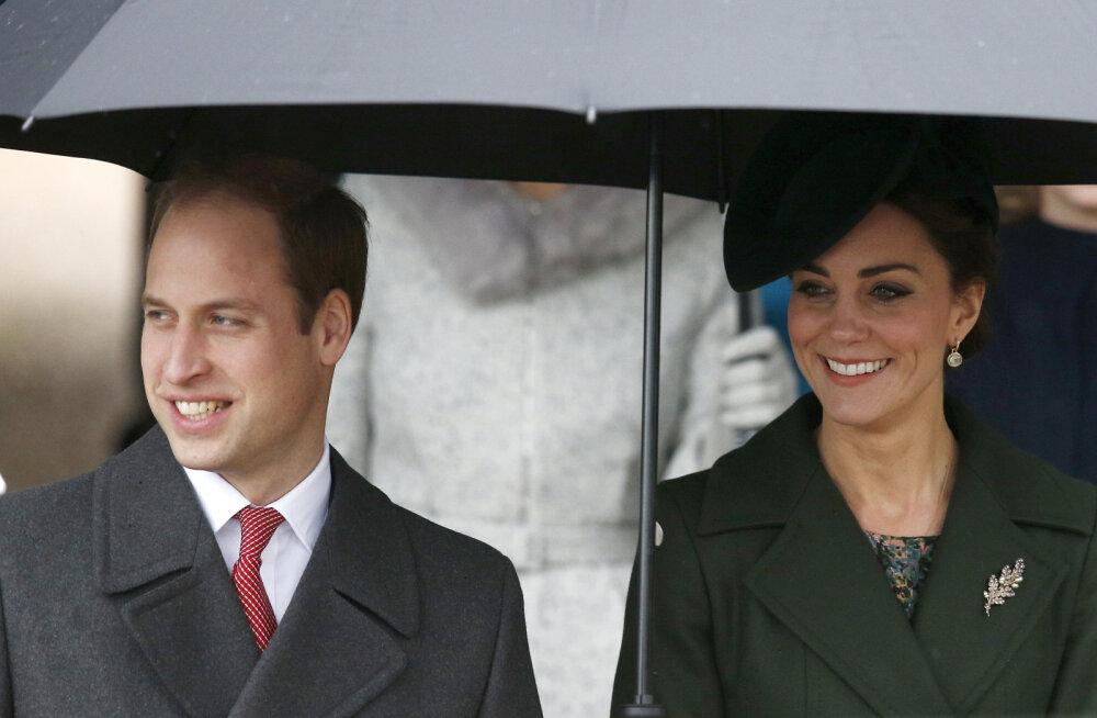 Tehtud! Kate ja William vilistasid taas kuningakoja traditsioonilistele jõuludele