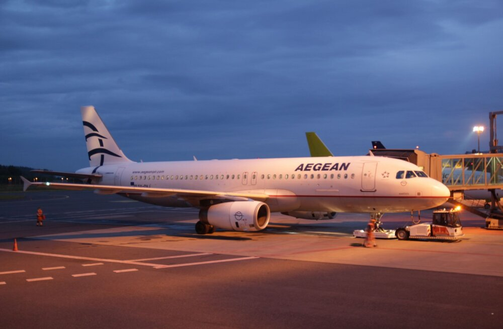 Kreeka lennufirma Aegean Airlines alustas eilsest otselende Tallinnast Ateenasse