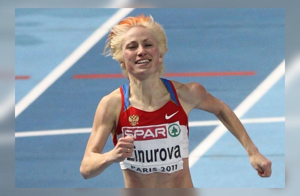 Kolm venelannast kergejõustiku EM medalisti said 2-aastased võistluskeelud!