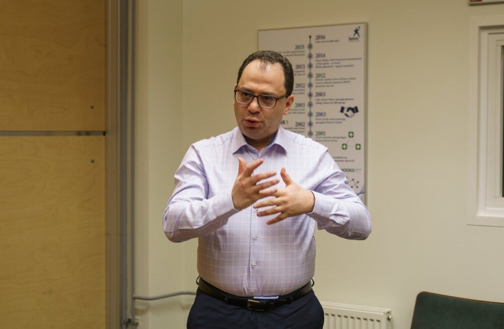 Tamro Balticsi juht Leon Jankelevitsh