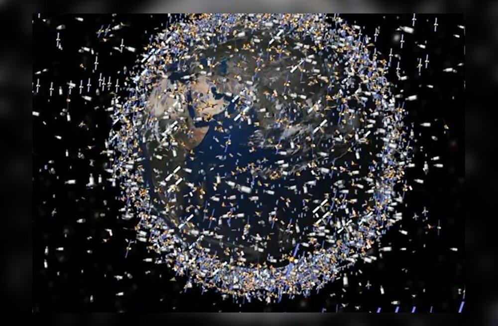 Prügi ründab: Kosmoseraketid vajavad soomustamist ja astronaudid kuuliveste