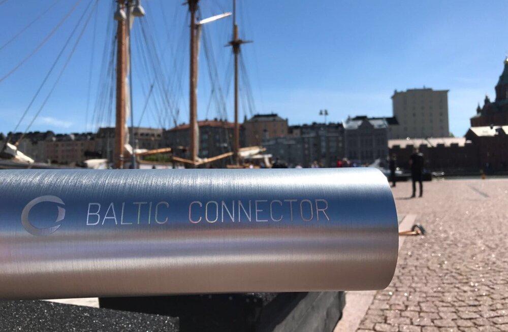 Soome valitsus andis Balticconnectori gaasitoru ehitamiseks loa