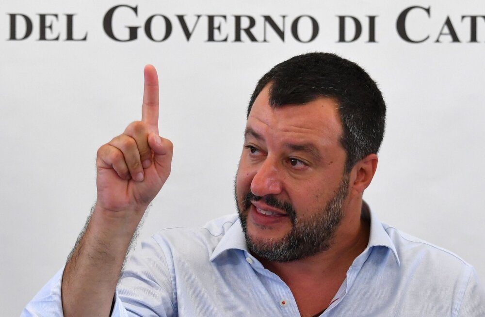Salvini pole enda sõnul kunagi võtnud Venemaalt ühtki rubla, eurot, dollarit ega liitrit viina