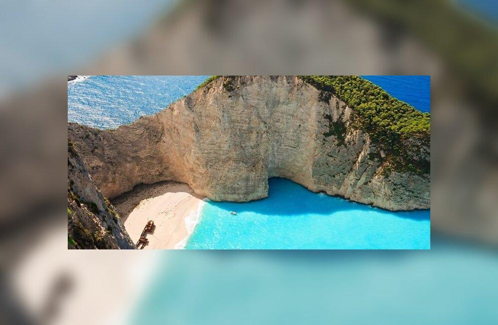 KUUM SIHTKOHT: Zakynthos — tõenäoliselt Kreeka kaunima rannaga saar