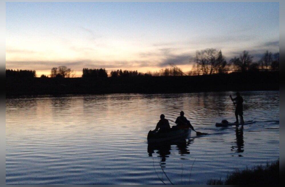 Pärnu jõgi on veematkajatele teada-tuntud rännupaik.