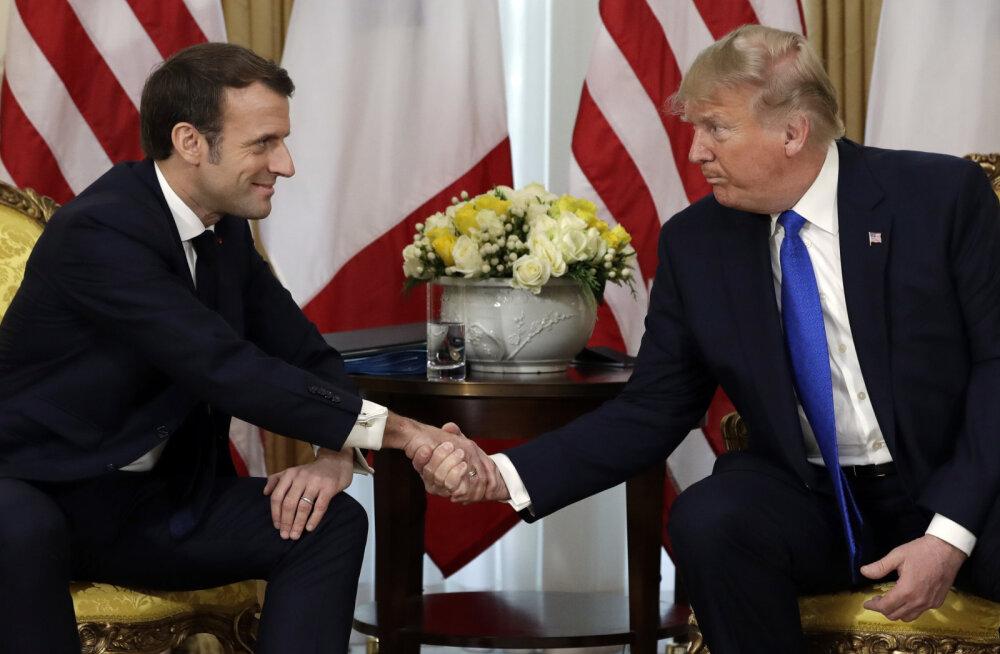 DELFI LONDONIS | Sakkov: nüüd on Trump NATO kaitsja selliste läbematute ja halvasti ütlevate poliitikute ees nagu Macron