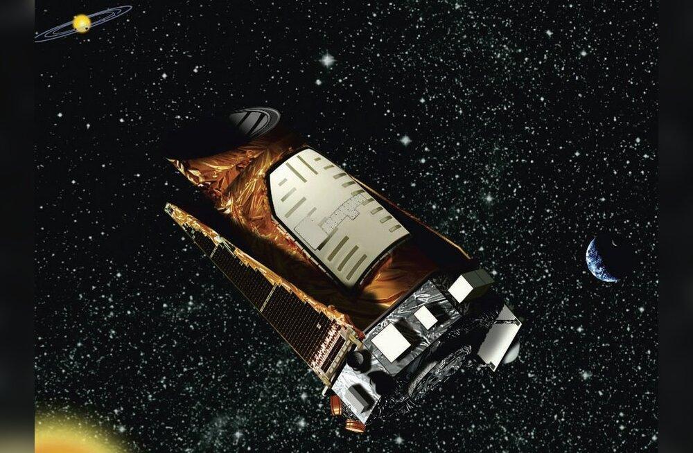 Kepleri teleskoop kosmoses, kunstniku nägemuses