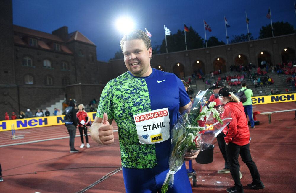 Daniel Stahl võidutses Rabati Teemantliiga etapil, 70 meetri joonest jäi puudu loetud sentimeetrid