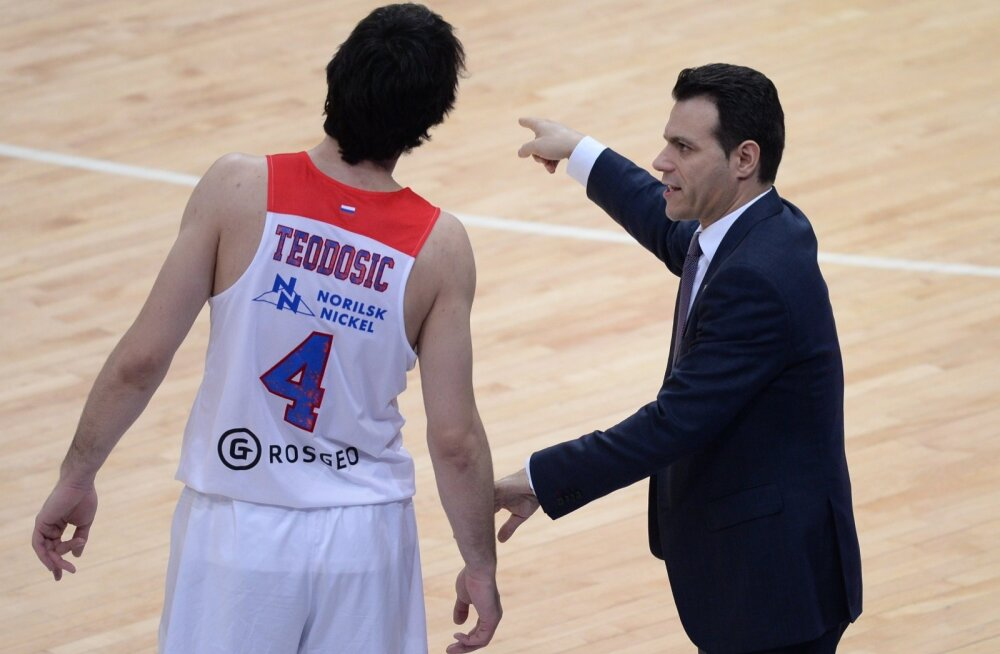 Milos Teodosic, Dimitrios Itoudis