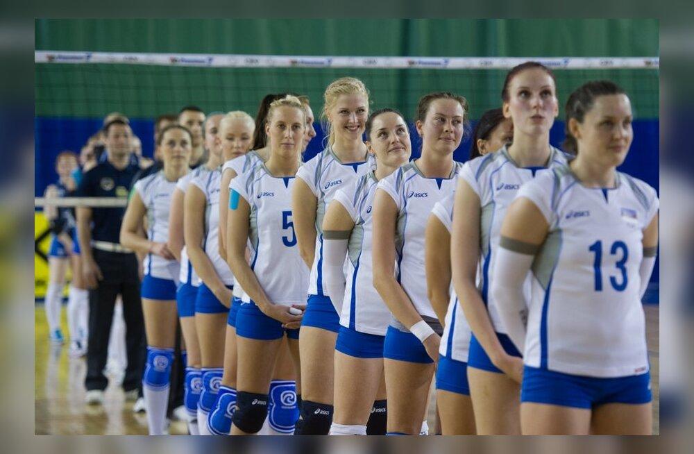 Eesti ja Soome sõpruskohtumine naiste võrkpallis