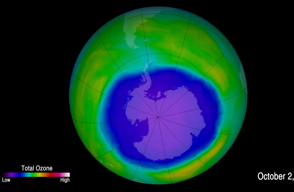 Osooniauk Antarktika kohal