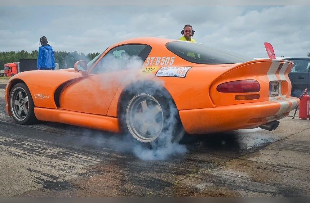 Speedest Legendsil selgusid Eesti Kiirenduse karikasarja kolmanda etapi parimad