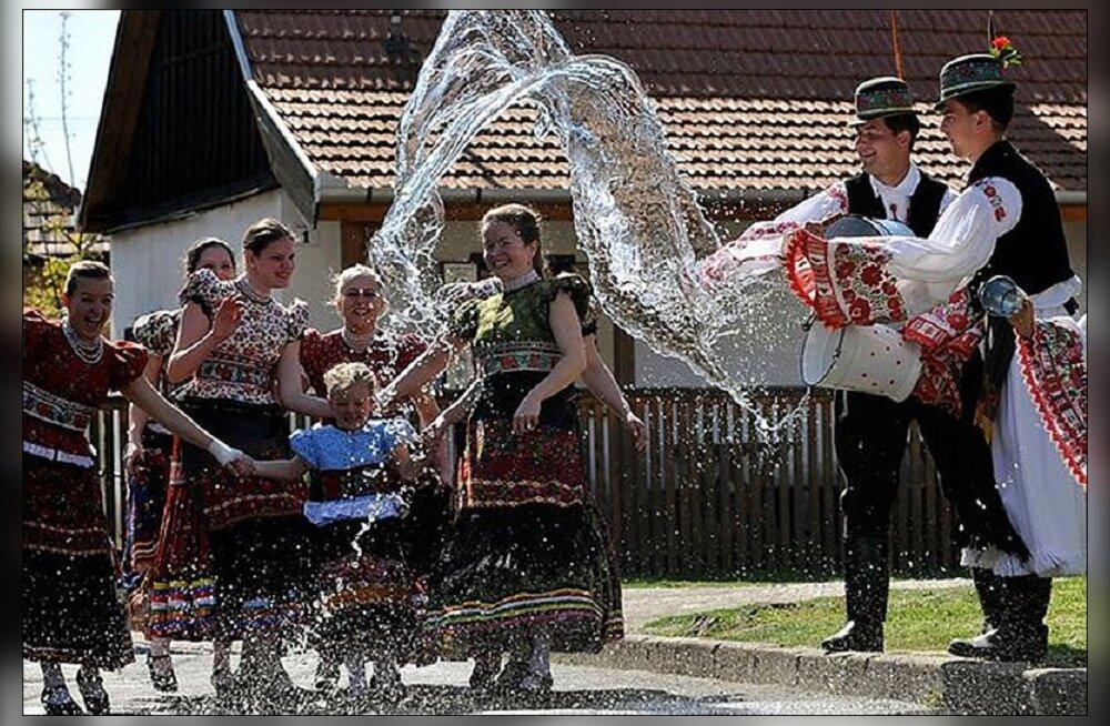 ФОТО ДНЯ Turist.ee: Мокрый понедельник в Польше