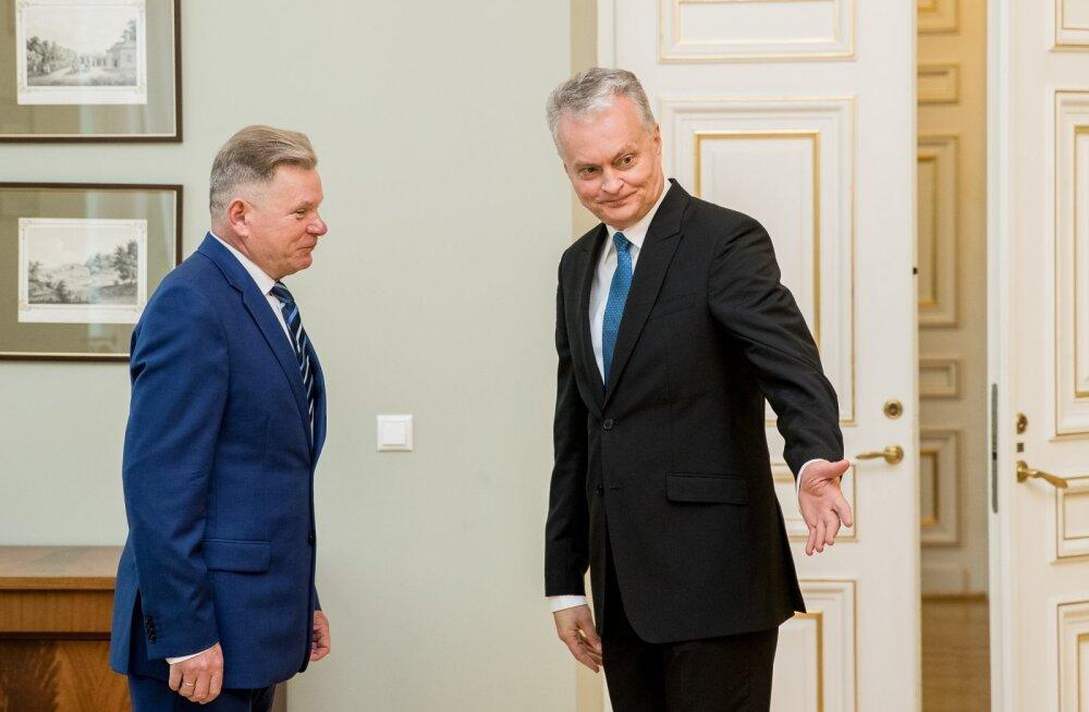 Leedu president nõuab transpordiministri tagasiastumist, vähihaige peaminister on samas töövõimetu