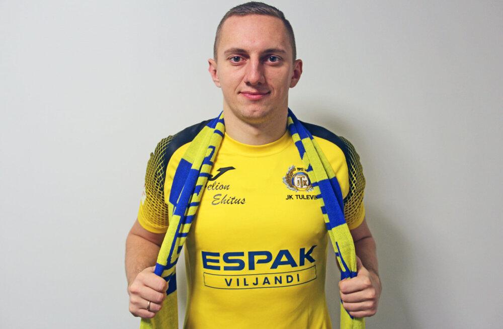 Levadia-aeg sai läbi: Pavel Marin liitus Viljandi Tulevikuga