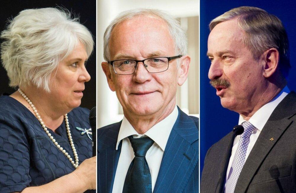Предвыборные интриги: Каллас и Кальюранд останутся с носом, президентом выберут Нестора?