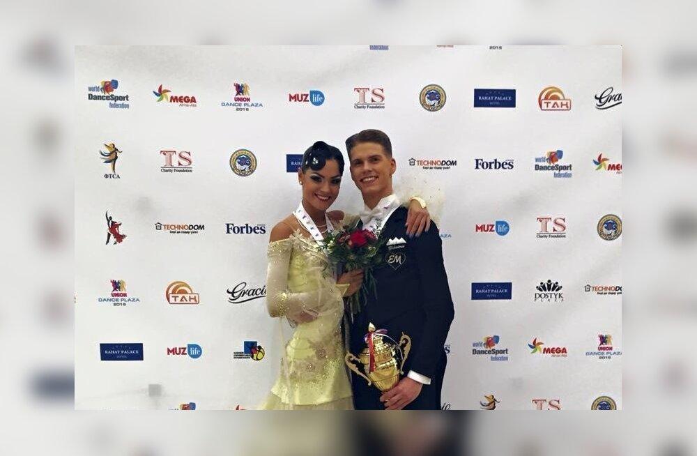 Madis Abel ja Aleksandra Galkina