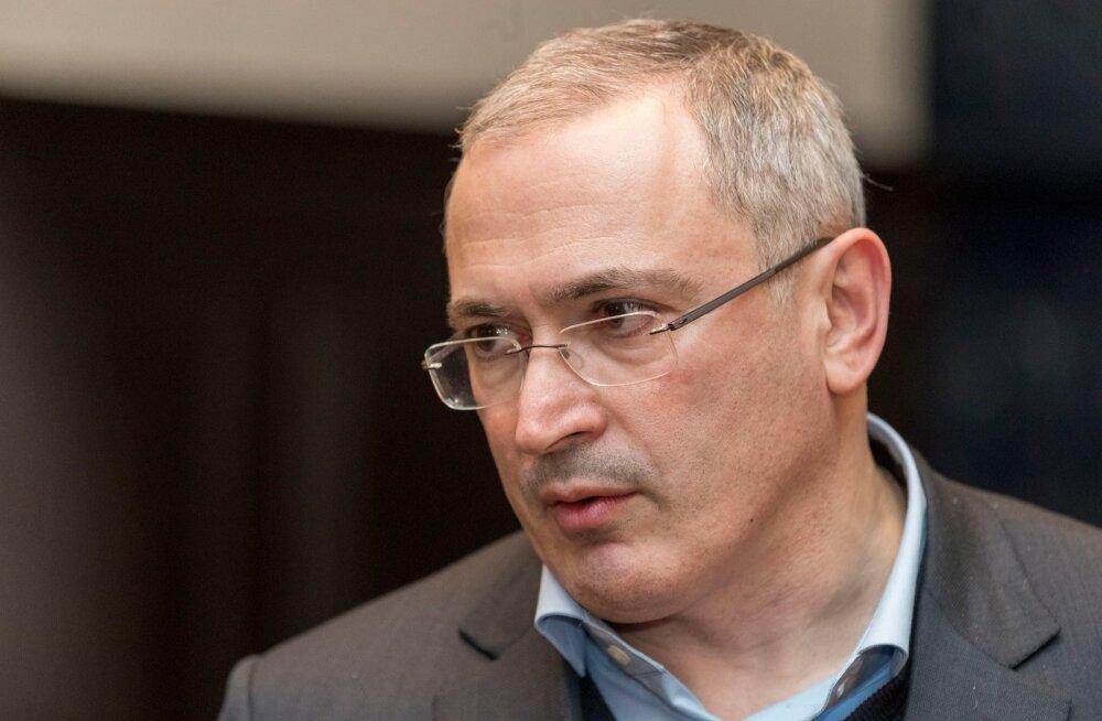 """Ходорковский в Таллинне: Путину придется столкнуться с тем самым """"надоел"""""""