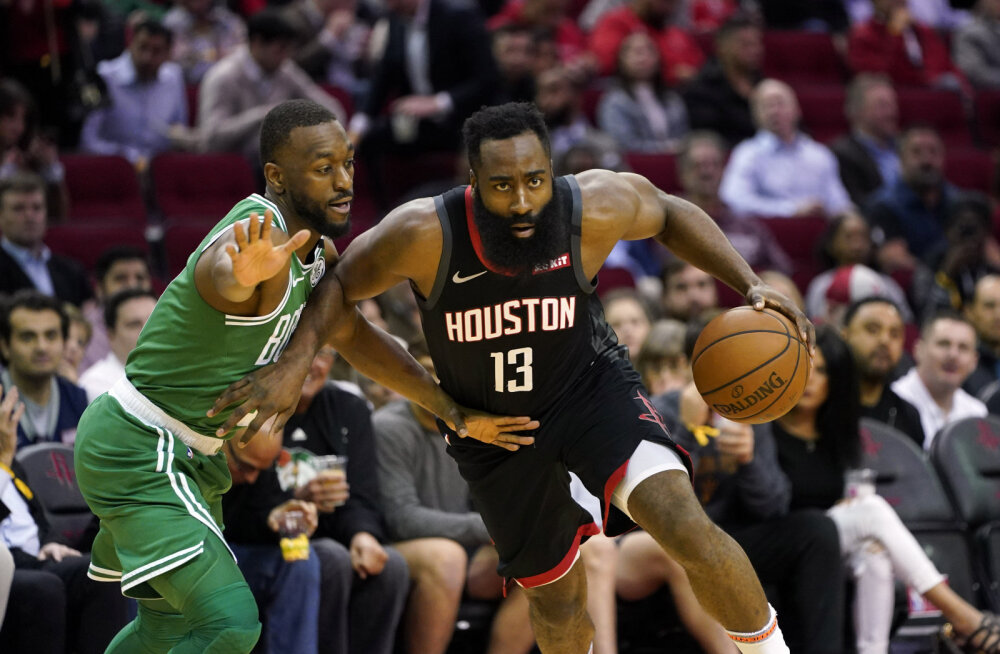 James Harden ja Co peatasid Boston Celticsi rongi