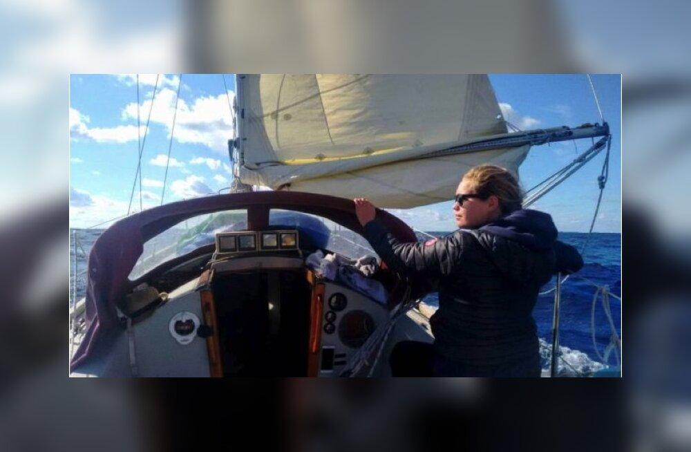На другой край Земли: жительница Латвии несколько лет провела под парусом в море