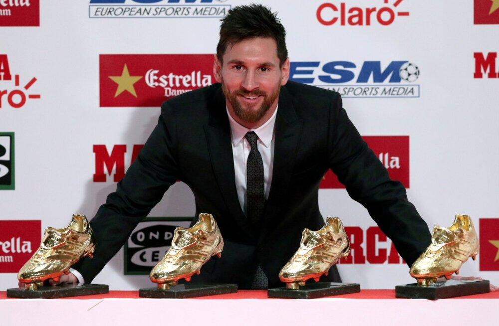 """""""Se queda"""": Messi sõlmis Barcelonaga uue lepingu"""
