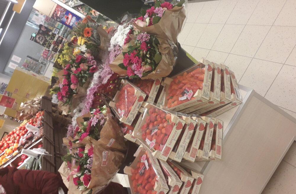 Вас это тоже коснется! Статистика: почти каждая жительница Эстонии завтра получит цветы из Maxima