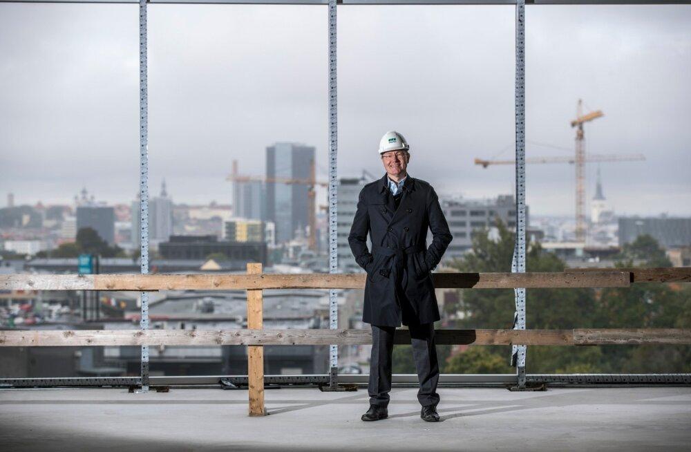 Tallinn ehitab- Andres Trink  on Eesti edukaima ehitusfirma Merko Ehitus As juht.