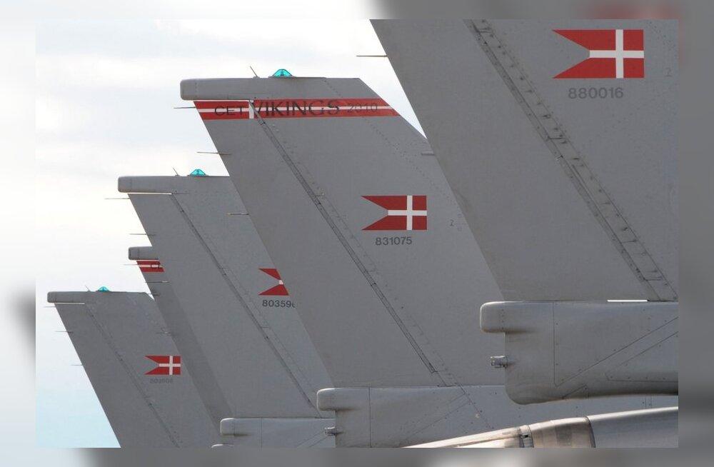Balti õhuruumi turvavad taanlased on märganud Venemaa aktiveerumist