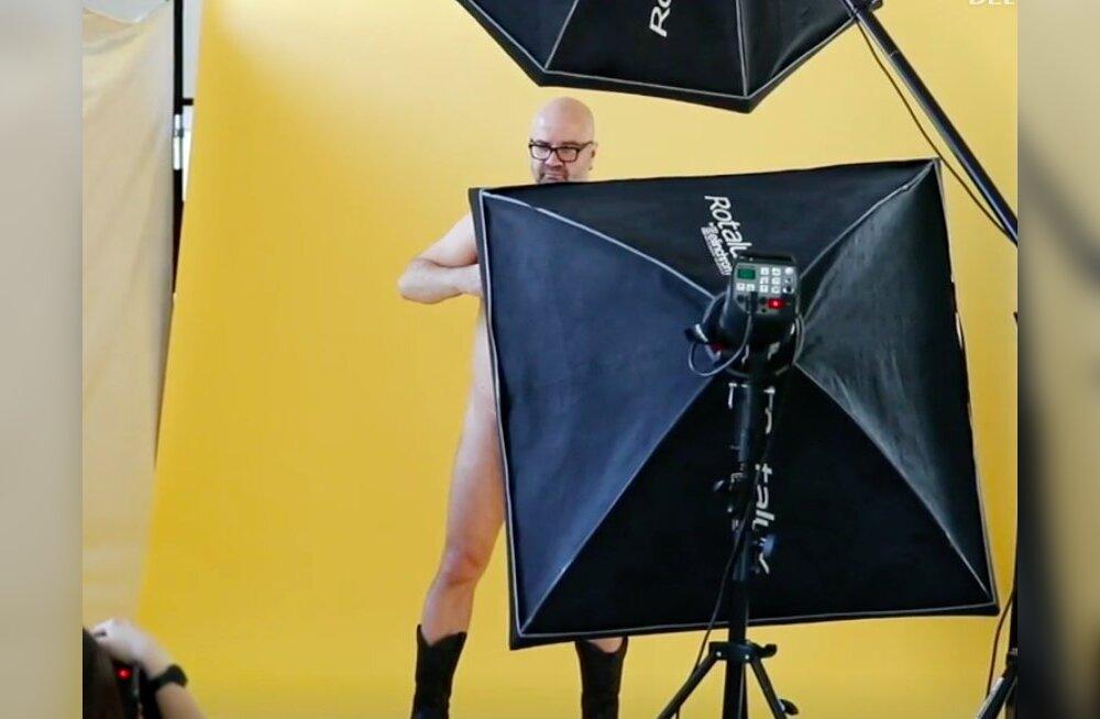FOTO | Mihkel Raud poseerib alasti: vanadus on mehe elu tipphetk!