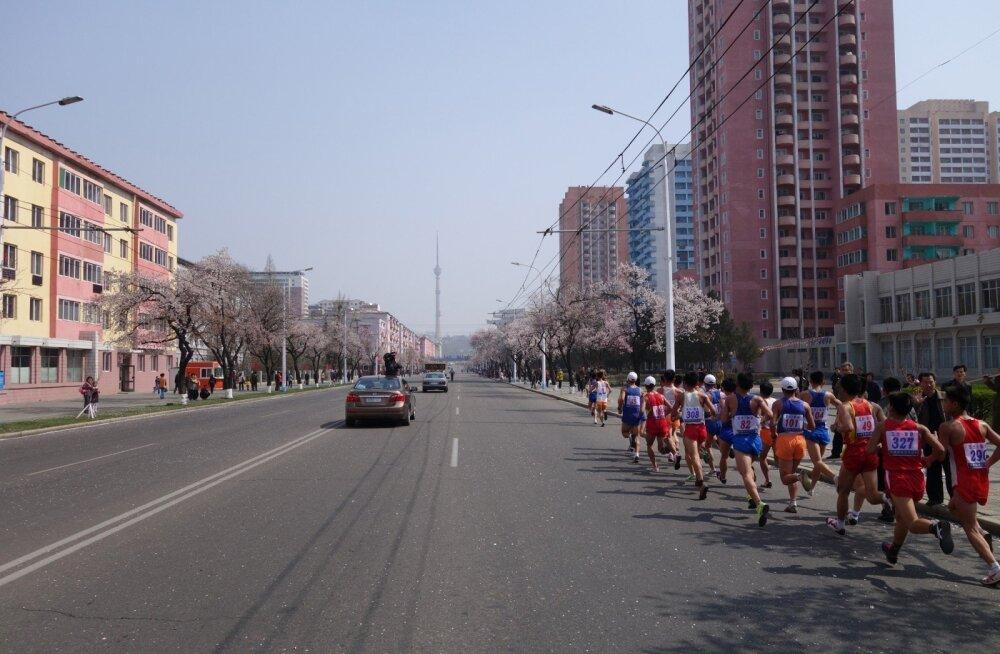 Марафон в Корее: заплатив 50 евро за участие, литовец смог увидеть необычные картины